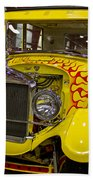 1927 Ford-front View Beach Towel