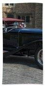 1927 Isotta Fraschini Tipo 8a Roadster Beach Towel