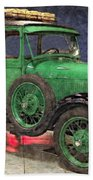 1929 Ford Model A By Liane Wright Beach Towel