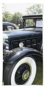 1930 Cadillac V-16 Imperial Limousine Beach Towel