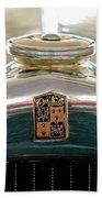 1930 Desoto K Hood Ornament Emblem Beach Towel