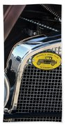 1930 Ford Model A - Front End - 7497 Beach Towel