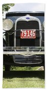 1930 Model-a Tudor 3 Beach Towel