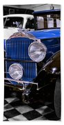 1930 Packard Limousine Beach Towel