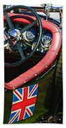 1931 Bentley 4.5 Liter Supercharged Le Mans Steering Wheel -1255c Beach Towel