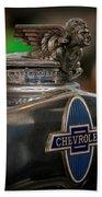 1931 Chevrolet Emblem Beach Towel