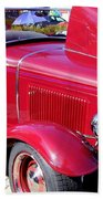 1931 Ford With Rumble Seat Beach Towel