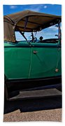 1931 Model T Ford Beach Towel by Steve Harrington