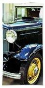 1932 Ford Cabriolet Beach Towel