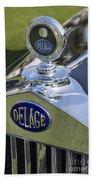 1933 Delage Beach Towel