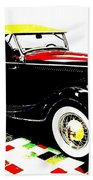 1934 Ford Phaeton V8  Beach Towel