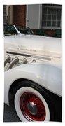 1936 Auburn Super Charger Beach Towel