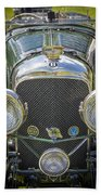 1936 Bentley 4.5 Litre Lemans Rc Series Beach Towel