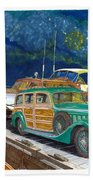 1936 Hispano Suiza Shooting Brake Beach Towel