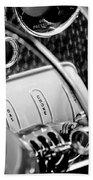 1937 Cord 812 Phaeton Steering Wheel Beach Towel