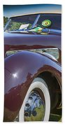 1937 Cord Phaeton Beach Towel