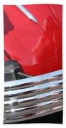 1937 Desoto Chrome Bumper-7249 Beach Towel