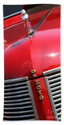 1937 Desoto Front Grill Beach Towel