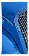 1937 Peugeot 402 Darl'mat Legere Special Sport Roadster Recreation Grille Emblem Beach Towel