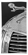 1938 Dodge Ram Hood Ornament 4 Beach Towel