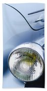 1938 Talbot-lago 150c Ss Figoni And Falaschi Cabriolet Headlight - Emblem Beach Towel