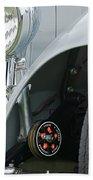 1939 Aston Martin 15-98 Abbey Coachworks Swb Sports Suspension Control Beach Towel