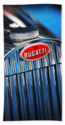 1939 Bugatti Type 57c Beach Towel