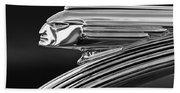 1939 Pontiac Silver Streak Hood Ornament 3 Beach Towel