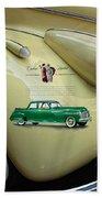 1940 Buick 41c Beach Towel