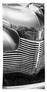 1940 Chevy Grill Beach Towel