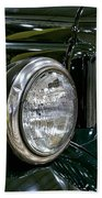 1940 Dodge Pickup Headlight Grill Beach Towel