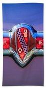 1941 Buick Eight Special Emblem Beach Towel