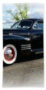 1941 Cadillac Coupe Beach Towel by Paul Ward