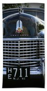 1941 Cadillac Front End Beach Towel