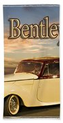 1947 Bentley Beach Towel