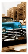 1947 Cadillac Convertible Beach Towel