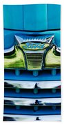 1947 Ford Deluxe Grille Ornament -0700c Beach Towel