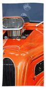 1948 Anglia Engine -522c Beach Towel