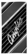 1948 Anglia Grille Emblem -510bw Beach Towel