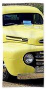 1949 Ford Pickup Beach Towel