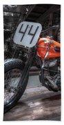 1949 Harley Davidson Beach Towel