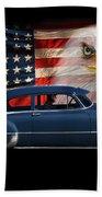 1949 Pontiac Tribute Roger Beach Towel