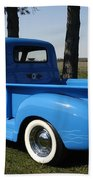 1950 Chevrolet Pick Up Baby Blue Beach Towel