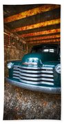 1950 Chevy Truck Beach Towel