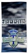 1950 Ferrari Emblem Beach Towel