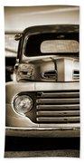 1950 Ford F-100 Beach Towel