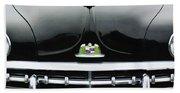 1950 Lincoln Cosmopolitan Henney Limousine Grille Emblem - Hood Ornament Beach Towel