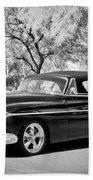 1950 Oldsmobile 88 -004bw Beach Towel