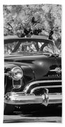 1950 Oldsmobile 88 -105bw Beach Towel