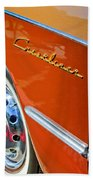 1951 Ford Crestliner Emblem - Wheel Beach Towel